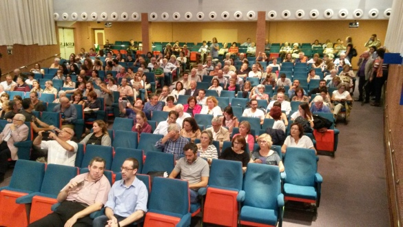 Publico asistente al acto. Fuente: Marecologia