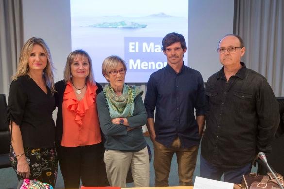 Participantes mesa redonda. Fuente: Pacto por el Mar Menor.
